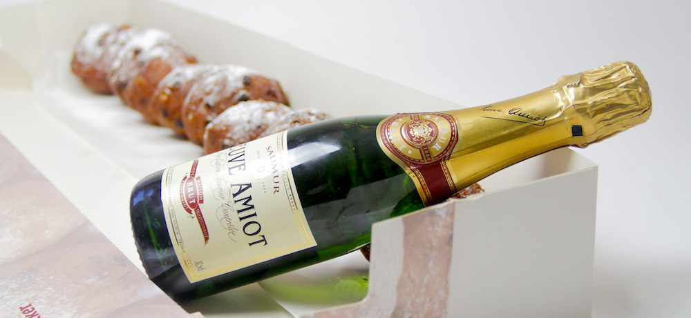 meter-oliebollen-met-champagne